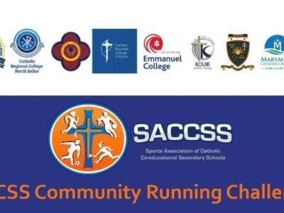 SACCSS Community Running Challenge Term 3 – banner