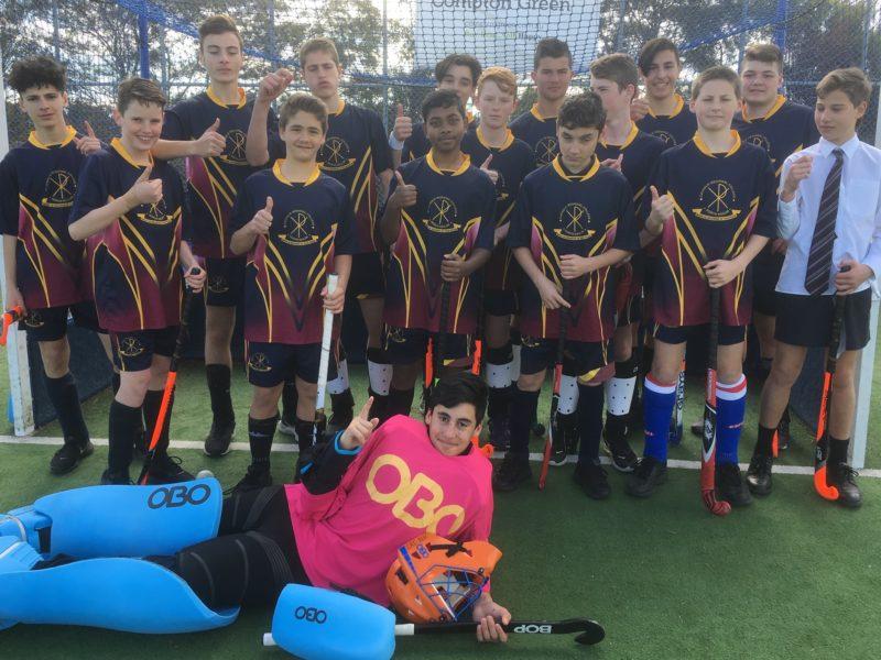 Junior Boys hockey premiers 2019